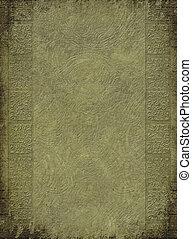 antigüedad, graba relieve, columna, impresión, fondo