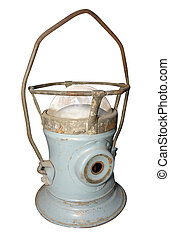 antigüedad, lámpara huracán