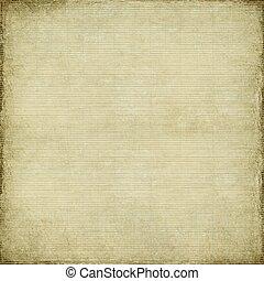 antigüedad, papel, y, bambú, tejido, plano de fondo