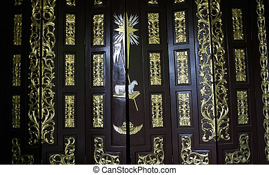 antigüedad, puerta