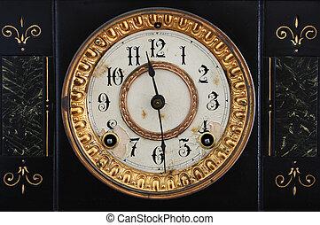 antigüedad, reloj