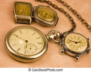 antigüedad, relojes