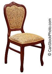 antigüedad, silla
