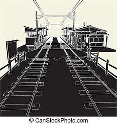 antigüidade, estação de comboios