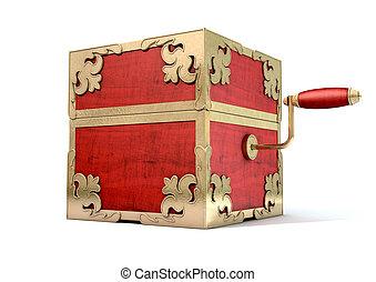 antigüidade, fim,  jack-in-the-box