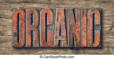 antigüidade, letterpress, madeira, tipo, imprimindo blocos, --, orgânica