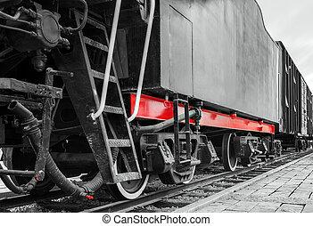 antigüidade, trem