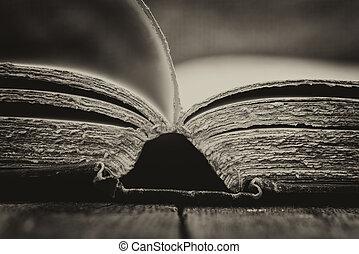 antigüidade, vindima, efeito, armando, livros, retro