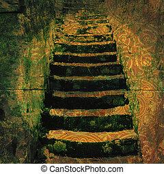 antiga, passos