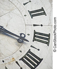 antiga, relógio
