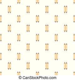 antiga, rolado, padrão, papyrus, seamless, vetorial, fechado