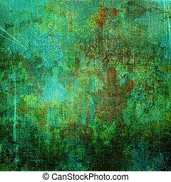 antigas, abstratos, grunge, fundo, textura