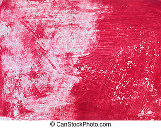 antigas, abstratos, textura, pintura, papet, vermelho