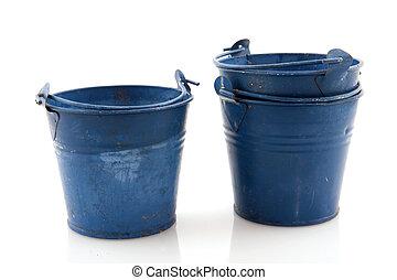 antigas, baldes