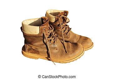 antigas, botas