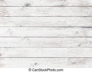 antigas, branca, madeira, fundo, ou, textura