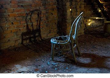 antigas, cadeira