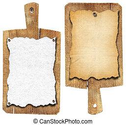 antigas, caderno, juntas cortantes