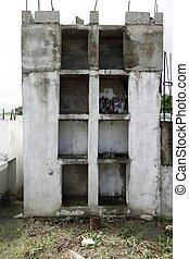 antigas, casa, abandonado