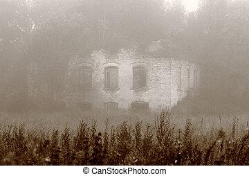 antigas, casa assombrada