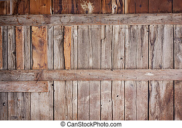 antigas, celeiro, madeira, fundo