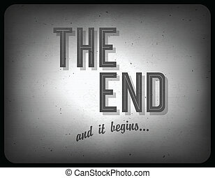 antigas, cinema, frase, (once, sobre, um, time), vetorial,...