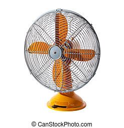 antigas, clássicas, retro, e, vindima, ventilador elétrico,...