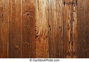 antigas, descrição, madeira, sobre, anos, 100, surface.