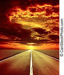 antigas, estrada
