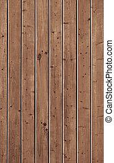 antigas, frontally., parede, forro, madeira pinho, board., closeup