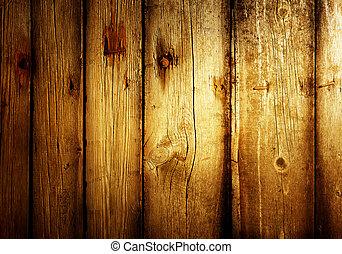 antigas, fundo, muito, madeira
