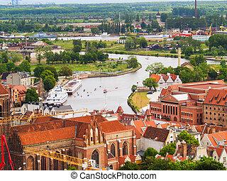 antigas, gdansk, cidade