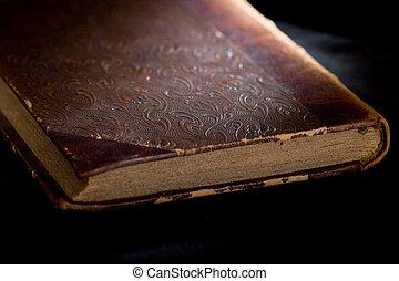 antigas, livro, up-close