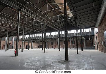 antigas, local industrial