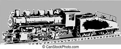 antigas, locomotiva