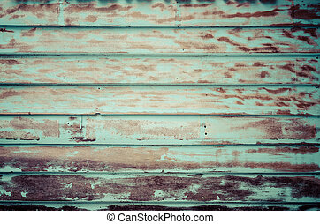 antigas, madeira, vindima, parede, sujo, processado