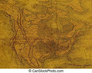 antigas, mapa
