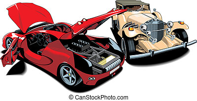 antigas, (my, carros, design), desporto, original