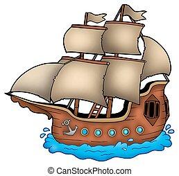 antigas, navio