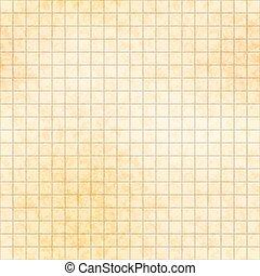 antigas, padrão, seamless, milímetro, papel, grade, cinco, textura