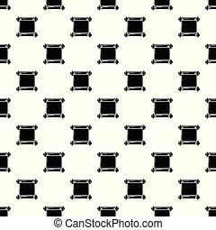antigas, padrão, seamless, pergaminho, vetorial, scroll