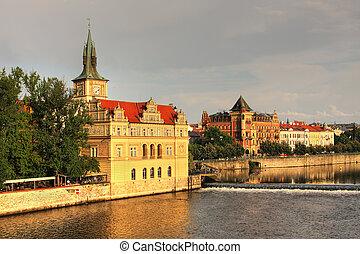 antigas, Praga