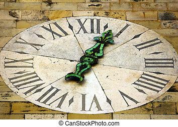 antigas, relógio