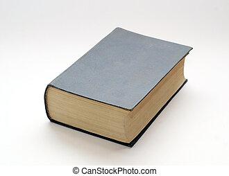 antigas, sólido, livro