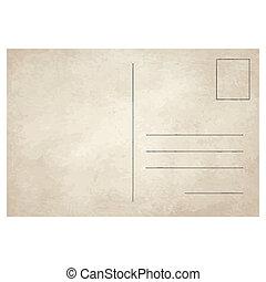 antigas, vindima, cartão postal