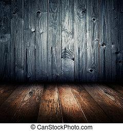 antigas, vindima, textura, madeira, interior, fundo, casa