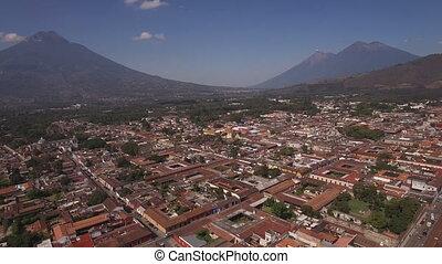 Antigua Guatemala (drone footage)