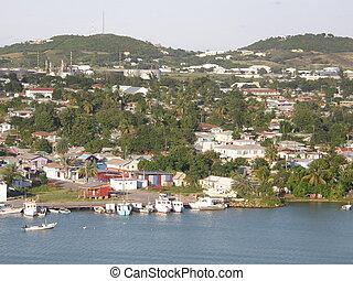 Antigua in the Caribbean