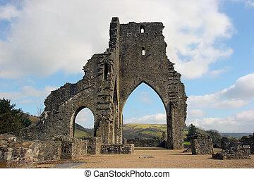 antiguo, abadía