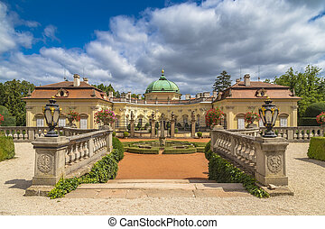 antiguo, buchlovice, castillo